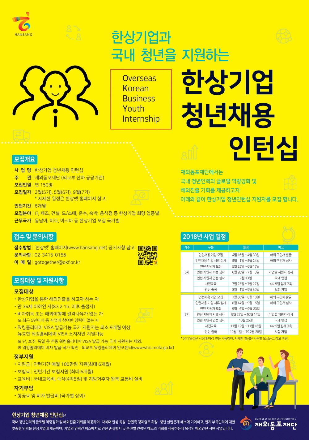 붙임3. 한상기업 청년채용 인턴십 포스터.jpg