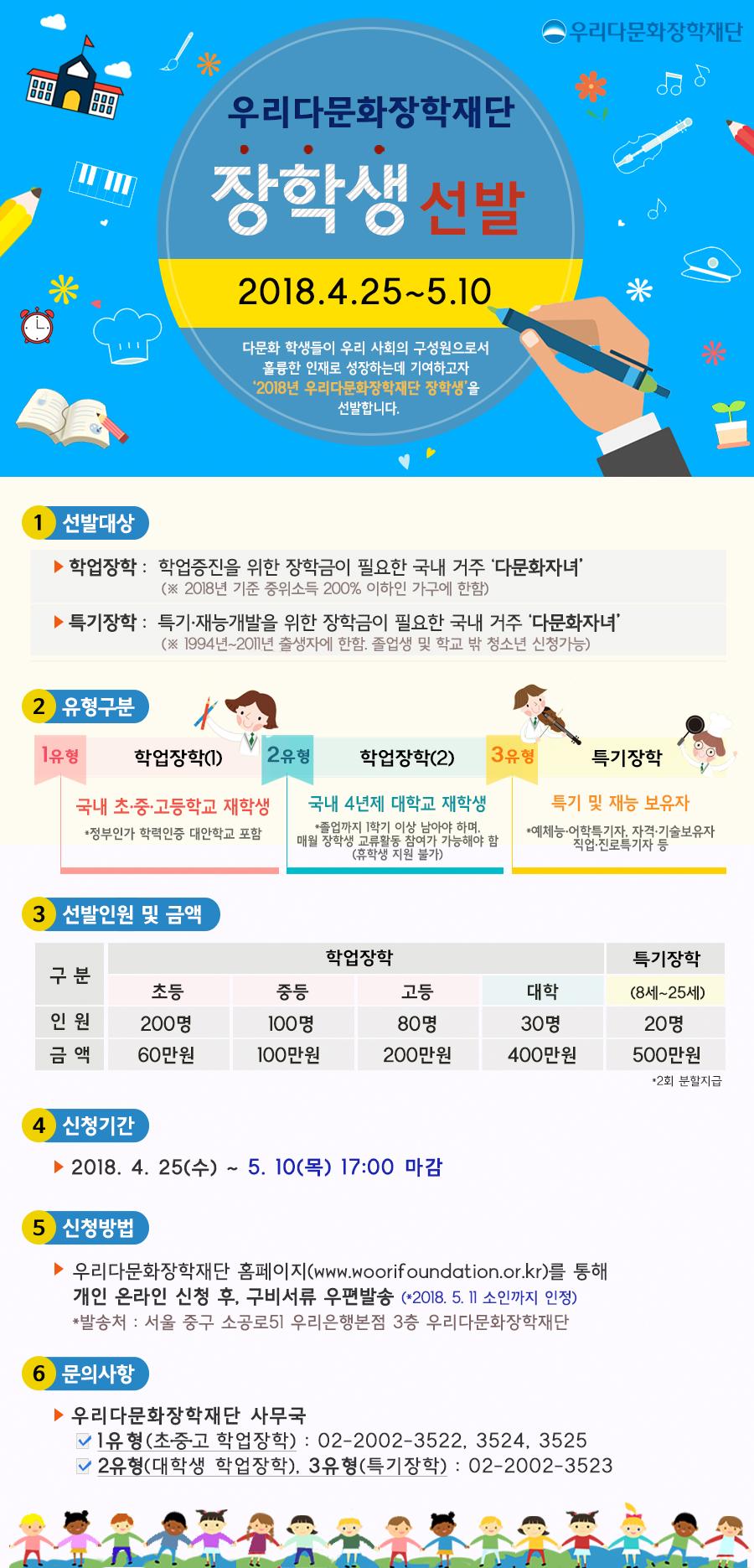 우리다문화장학재단-2018년 우리다문화장학재단 장학생 선발 홍보지.jpg